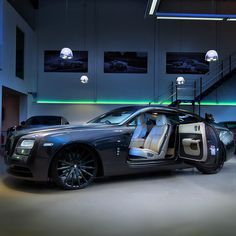 When a Wraith just isn't enough. We stepped up the car customisation game in the UK by customising countless Rolls Royce's. Every project… Rr Wraith, Rolls Royce Wraith, Mercedes Car, Performance Cars, Custom Cars, Luxury Cars, Cool Cars, Dream Cars, Super Cars