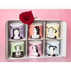 The Six Wives Of Henry VIII Six Mug-Hint, hint....I want this, Tommy Flick!