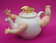 https://flic.kr/p/KcgK   cherub teapot   Cherub teapot limited edition of only 15 for more details please visit my website  www.andytitcomb.com