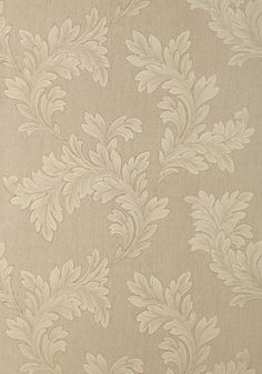 Thibaut Design, ELAND ACANTHUS, Stone, T1056, 25 Inch Repeat Collection Menswear Resource from Thibaut