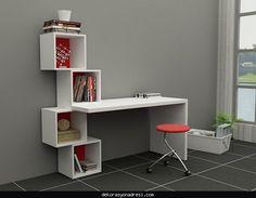 Çalışma ve bilgisayar masaları 2016 - http://www.dekorasyonadresi.com/calisma-ve-bilgisayar-masalari-2016/