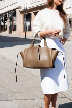 25672d8032 Presenting the Celine Tri-Fold Shoulder Bag. The Tri-Fold was first  introduced for Celine s Fall 2016 Collection.