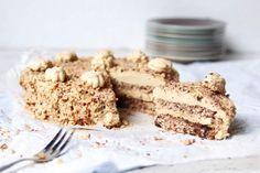 suikervrije en koolhydraatarme progrestaart Sweet Pie, Sweet Recipes, Sugar Free, Low Carb, Keto, Desserts, Food, Cupcakes, Tailgate Desserts