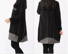 women Sweater dress knitwear sweater cotton dress by cottondress23