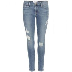 Frame - Le Skinny De Jeanne jeans #jeans #covetme #frame