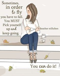 Sometimes you need to fall....but it's going to be OK.