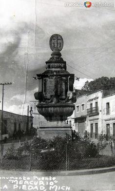 Fotos de La Piedad, Michoacán, México: Mto. Mercurio Hacia 1945