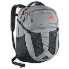 The North Face Recon Backpack - Women's Dapple Grey Heather/Tropical Coral