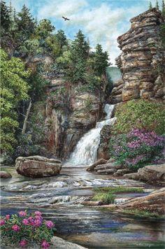 Linville Falls, NC - Willian Mangum
