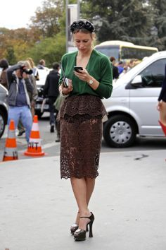 brn lace in paris...fashion population