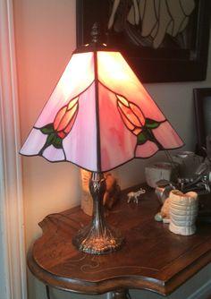 Lampe fait chez Vitres et Passions
