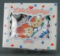 Little Raggedys: Raggedy Ann and Andy Asleep/Awake Pillow