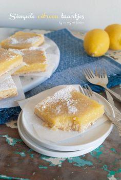 Citroen taartjes