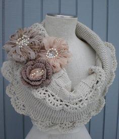 echarpe au trico et au crochet - Le blog de Oum-Linah