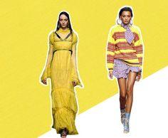 O Amarelo Primrose é bem solar e remete à natureza. Na foto, vestido da Erdem e blusa House of Holland
