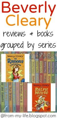 Beverly Cleary Books grouped by series with reviews @Kristin *