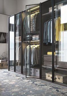 Glass Closet System | Remodelista Armadio al Centimetro Aria