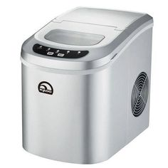 Freestanding Ice Maker In Silver,IGLOO 26 Lb Ice Maker