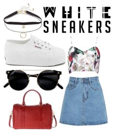 """#22"" by renatamarquess ❤ liked on Polyvore featuring Superga"