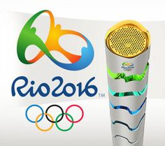 Rio 2016 Olympic Torch The torch�s design unites movement, innovation and Brazilian flavour, reflecting the essence of the Rio 2016 Olympic Torch Relay, which will be a meeting of the traditional Olympic flame and the warmth of the country http://www.rio2016.com/