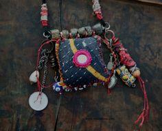 Kanta AMULET Necklace Urban Gypsy Talisman by TuscanRose on Etsy