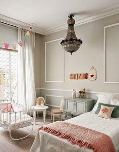 El piso perfecto decorado por Living Pink (y van dos) · A perfect apartment by Living Pink (another one) -colores: verde agua y rosa pastel
