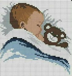 quilting like crazy Baby Cross Stitch Patterns, Cross Stitch Alphabet, Cross Stitch Baby, Cross Stitch Designs, Cross Stitching, Cross Stitch Embroidery, Embroidery Patterns, Pixel Art, Tapestry Crochet