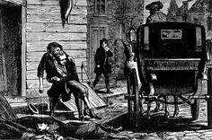 During the yellow fever epidemic of 1793, Philadelphia authorities sent carriages around the city to pick up the dead and dying