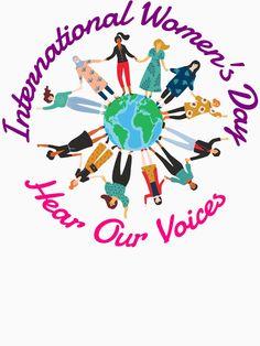 Internationaler Frauen Tag Feminismus Empowerment von peter2art Shirts, Women, Round Collar Shirt, Feminism, Working Holidays, Woman, Dress Shirts, Shirt