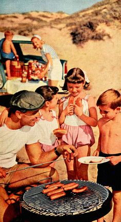 Hot Dogs on the beach! Have a great weekend my friends!