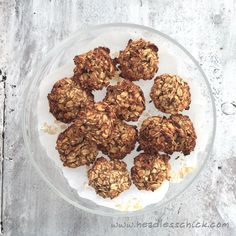 Easy Oatmeal and Banana Breakfast Cookies