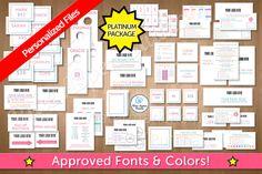 LuLaRoe Platinum Package Marketing Kit in Lines 104 by Blue Aspen Studio.