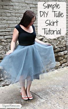 Want to design & sew your own clothes? Start making your own clothes with this DIY tulle skirt tutorial! This DIY tulle skirt is fairly straightforward to put together (no fancy equipment or fuss required), and it looks oh-so-pretty. Click on over to get the DIY tulle skirt tips and become your own fashion designer!