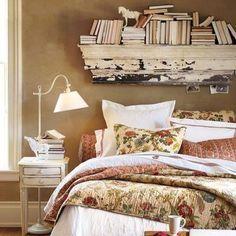 I need a bookshelf above my bed