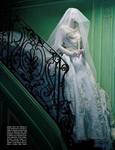 """""""So Magical, SoMysterious"""", Vogue Italia September 2012 photographed by Miles Aldridge."""
