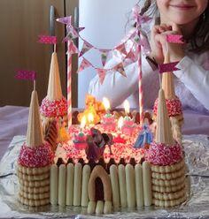 Les Mercredis de Julie: Gâteau château de Princesse