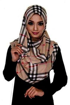 Burberry is a fashion house in British. The unique p Burberry Print, Girl Hijab, Hijab Fashion, Fashion Ideas, Wool, Silk, Printed, Prints, Silk Sarees