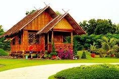 Philippines Bahay kubo (Nipa Hut)