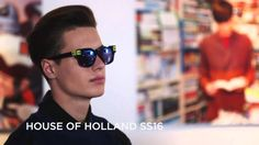 Watch the House of Holland presentation for SS16 at London Collections Men #LCM