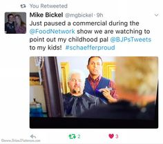 One of the proudest & most #AwesomeMoments of my week was being tweeted about by a middle/high school friend with whom I used to play Dungeons & Dragons. #Pickel #Boner  #iLoveMyJob #gratitude #iPhone #national #commercial #actors #guyfieri #television #friends #TagsForLikes #workingactor #actor #tv #silverscreen #twitter #photooftheday #hollywood #filming #comedy #food #lawofattraction #celebrity #cable #passion #powerofintention #fun #tuesday
