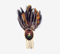 Chanel Feather Comb