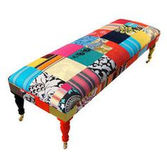 eclectic benches by Squint Limited
