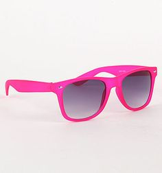 Sexy Hot Pink @PacSun Rubber Glasses