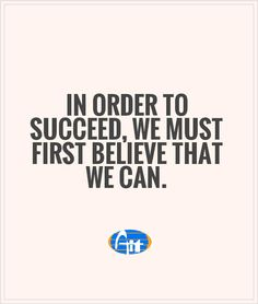 In order to succeed, we must first believe that we can. #Aiitech