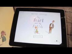 """**IPAD APP OF THE WEEK!** http://itunes.apple.com/gb/app/the-heart-bottle-for-ipad/id407795360?mt=8. Join us at http://www.facebook.com/OliverJeffersApps   A remarkable new interactive picture book iPad application like you've never seen before. Read by Helena Bonham Carter and brought to you by HarperCollins and Bold Creative.  """"Once there was ..."""