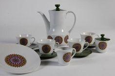 Seltmann Weiden Bavaria W. Germany | ... & Retro - 1960s Retro White & Green Coffee Set, Seltmann Bavaria
