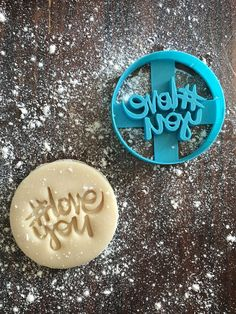Create a fun and unique cookie using this cookie stamp. Whether it's a thank you, birthday, or just because, the cookies you make with this cutter are sure to be a hit! Approximately read our FAQ page for more information. Thank You Cookies, Heart Cookies, Cookie Cutters, Cookie Stamp, Letters And Numbers, Wedding Favors, Wedding Ideas, Cookie Decorating, Deserts