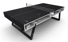 Cool Ping Pong Tables - Puma Chalk Ping Pong Table.  oh yes