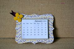 Free shipping on all 2015 Embellished Magnetic Calendars! These babies are great stocking stuffers! The Rounded Corner