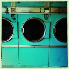 Retro laundromat